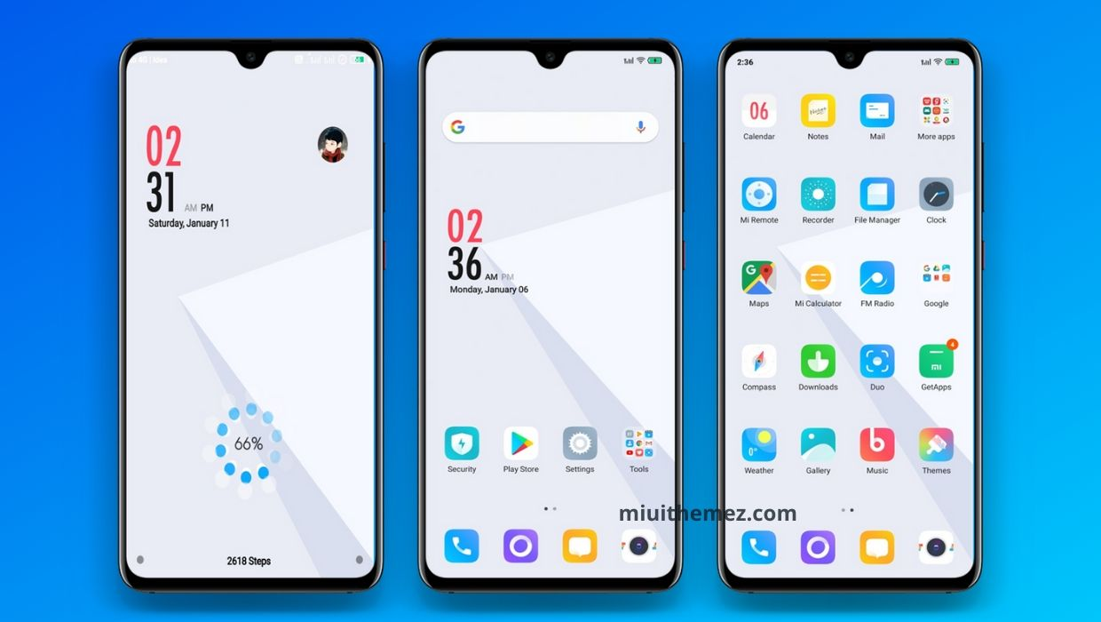 Unique V11 MIUI Theme