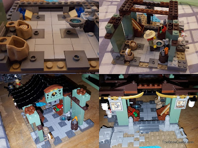 LEGO Ninjago Temple Of Airjitzu Smugglers Market Build