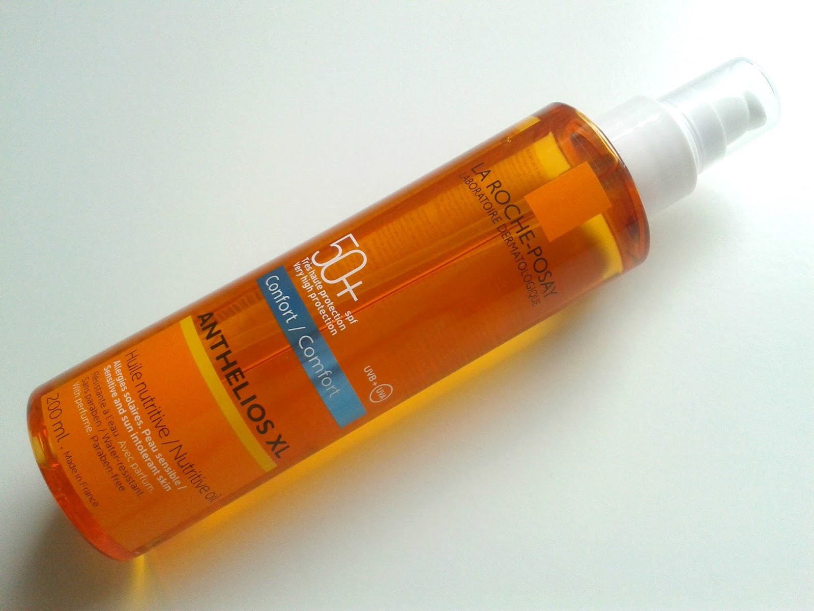La Roche-Posay Anthelios Protective Oil SPF 50 Beauty Review