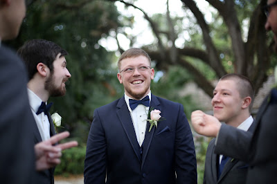 groomsmen in navy tux fort myers