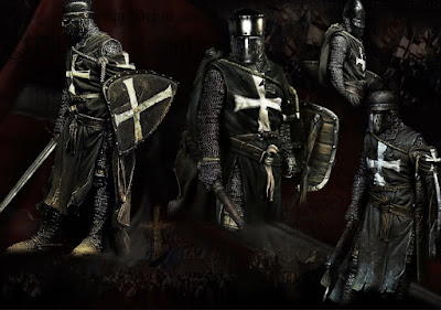 Prajurit Crusader Hospitallers