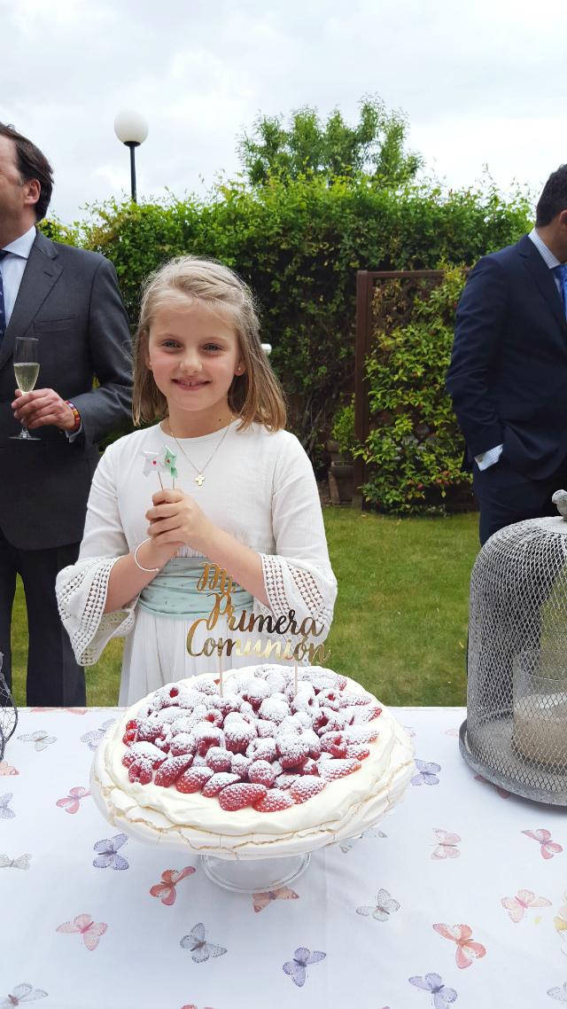 Las tartas de Zarina - La Comunion de Noa