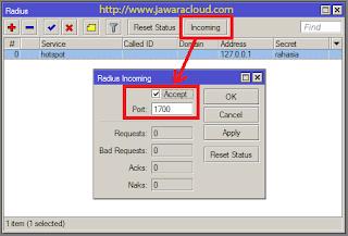 cara setting radius dan userman di mikrotik