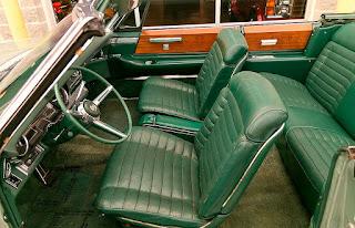 1966 Cadillac Eldorado Cabriolet Green Interior