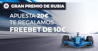 Paston promocion Fórmula 1 GP de Rusia 30 septiembre