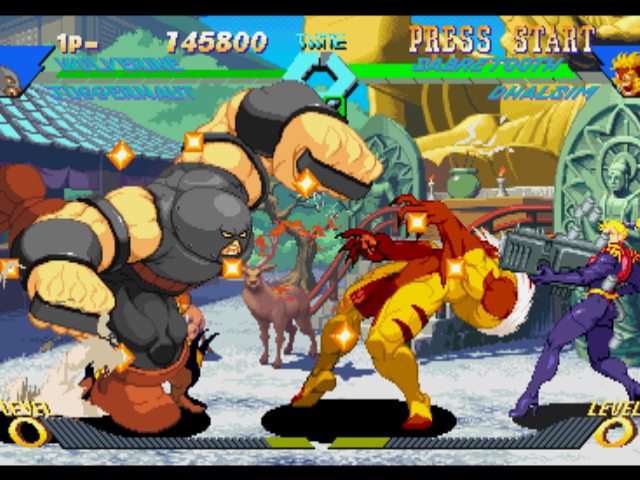 X-men vs. Street Fighter screenshot 1