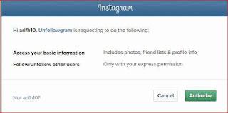 cara cek unfollower akun instagram