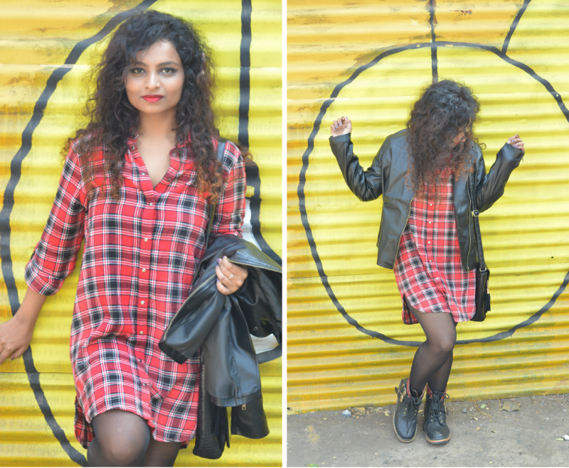 leather jacket indian fashion blogger winter fashion