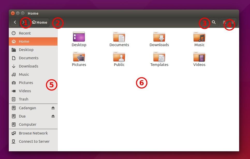 Ubuntu Buzz !: How To Use Ubuntu File Manager (Nautilus)