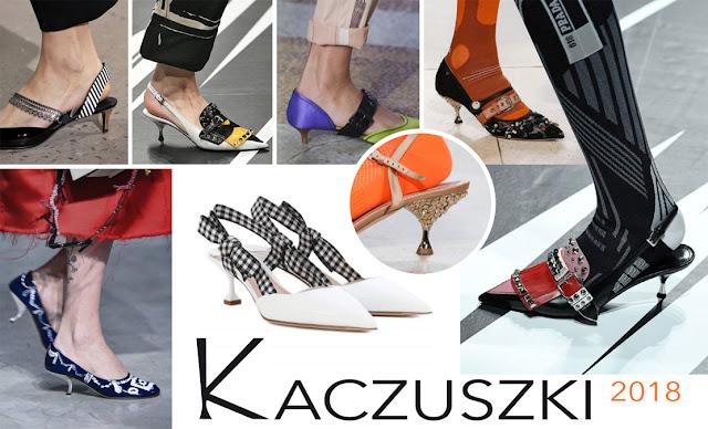 Modne buty damskie 2018 kaczuszki