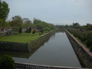 Moat of the Imperial City of Hue (Vietnam)