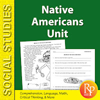 https://www.teacherspayteachers.com/Product/Native-Americans-Unit-2826036