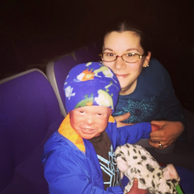 Evan, who has Harlequin Ichthyosis,  with his mum