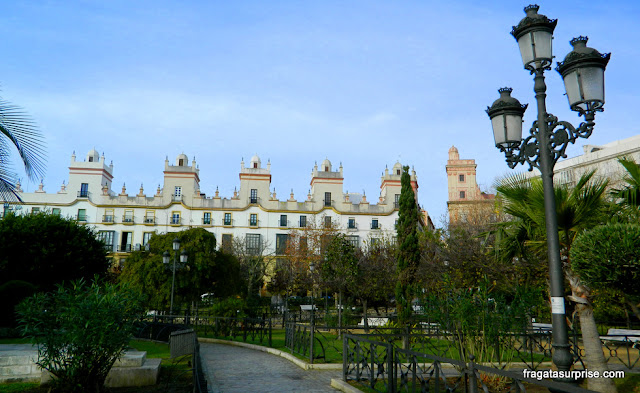 Casa das Cinco Torres, Cádiz, Andaluzia