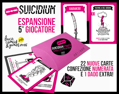 suicidium party, suicidium, gioco di carte, officina meningi, filler