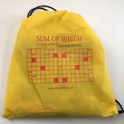 Photo of the bag the math game Sum of Which comes in