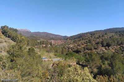 Pont del tren, a Duesaigües