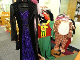 This library has annual costume swap that makes lots of sense and cents!