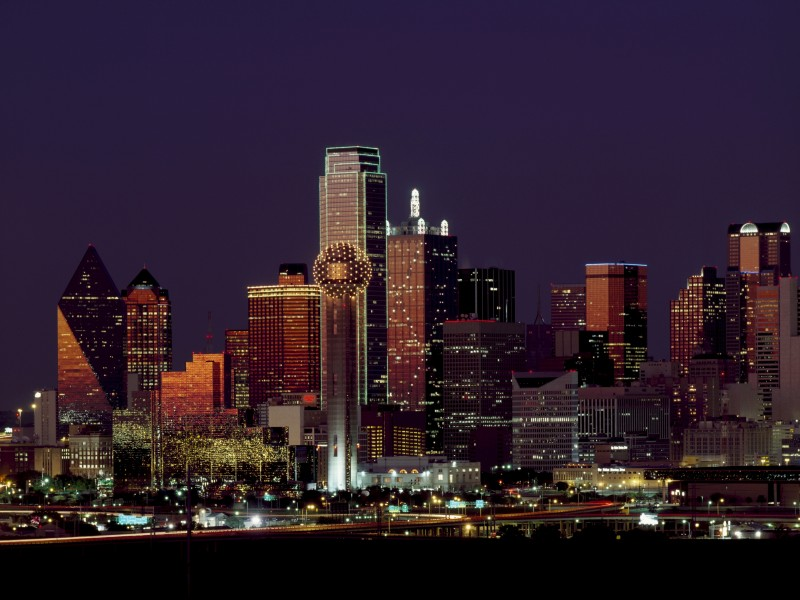 Download Dallas High-rises HD wallpaper. Click Visit page Button for More Images.