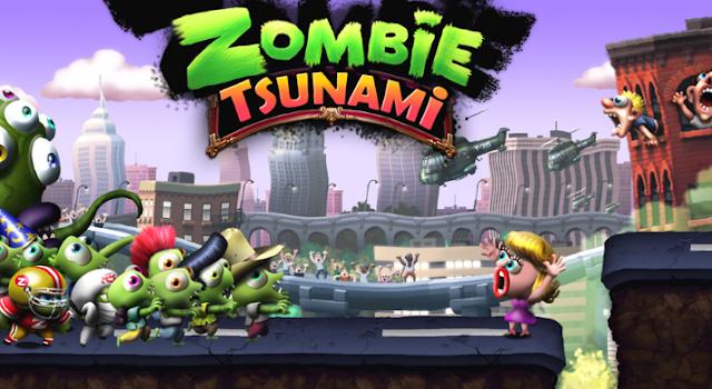 Download Zombie Tsunami v3.8.0 Mod Apk Terbaru (Unlimited Gold)