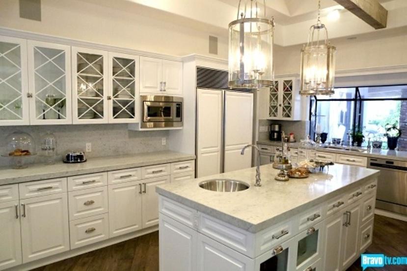 Kyle Richards New House Kitchen