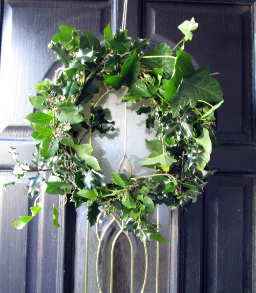 Christmas Rustic Wreath - Our Handmade Home