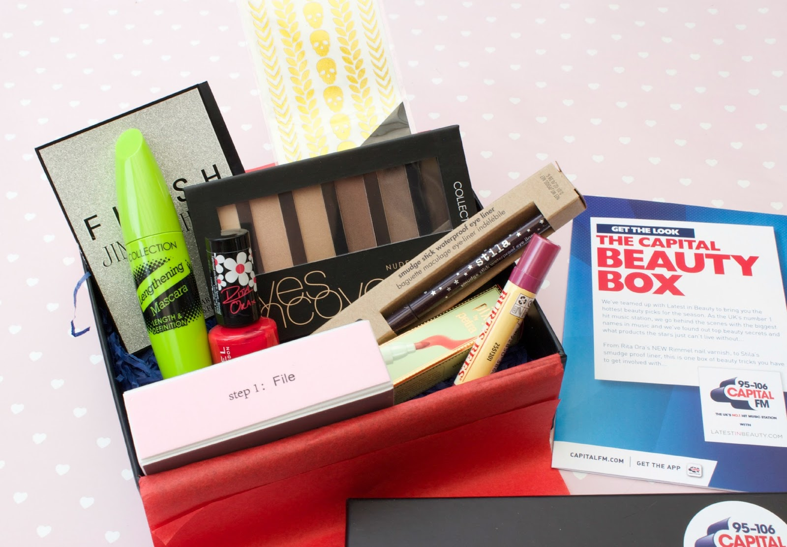 Latest In Beauty Capital FM Beauty Box