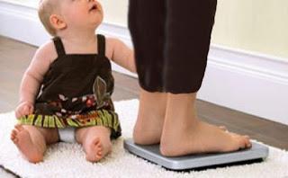 انقاص الوزن بعد الولادة