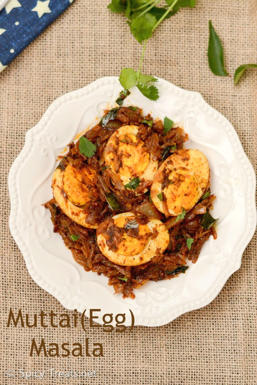 Muttai Masala Recipe