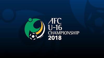 Jadwal, Hasil dan Klasemen Kualifikasi Piala Asia U-16 2018