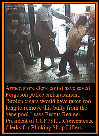 Ferguson Bully Given Short Reprieve (Click photo for video)