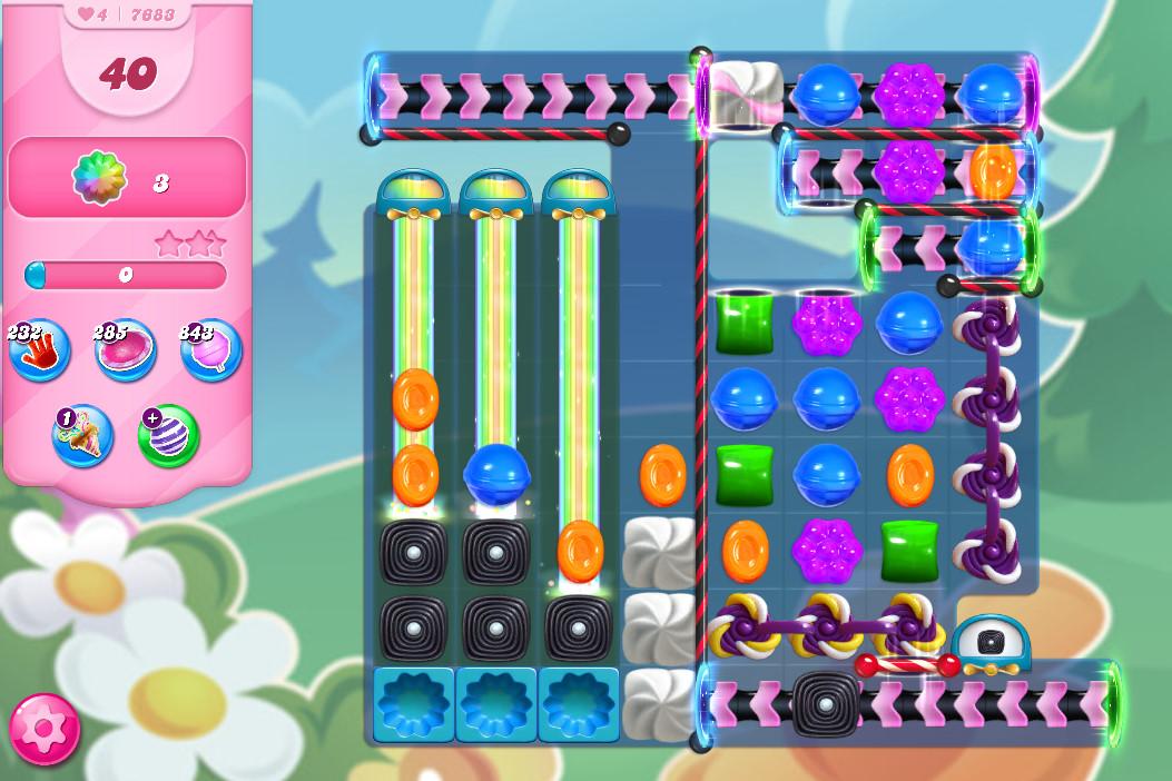 Candy Crush Saga level 7683