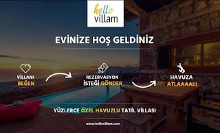 Özel Havuzlu Kiralık Villa Hizmetleri: Hellovillam
