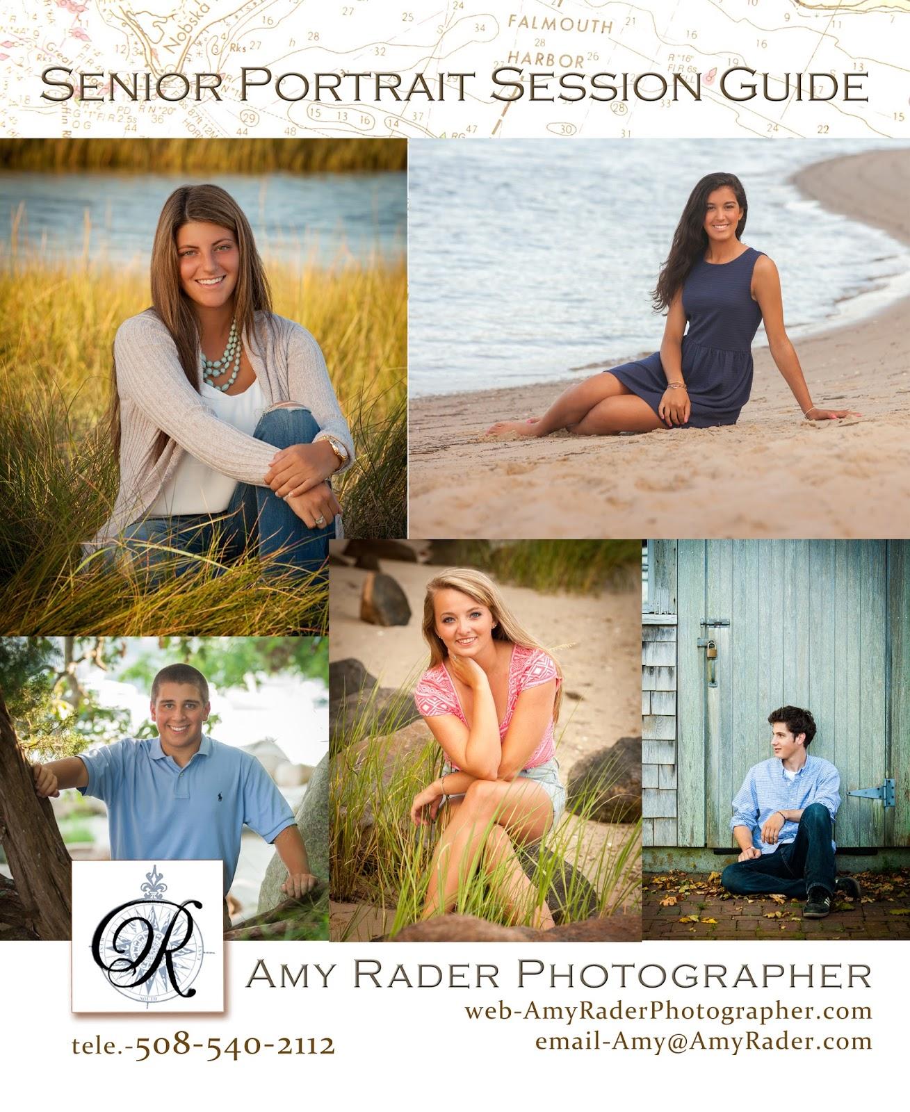 Amy Rader Photographer: 2019 High School Senior Portrait Pricing