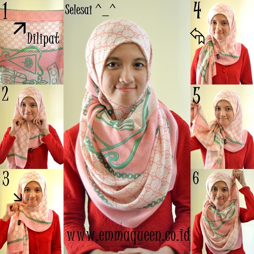 Model Jilbab Syari Bisa Untuk Hari Raya Idul Fitri Aneka Indonesia