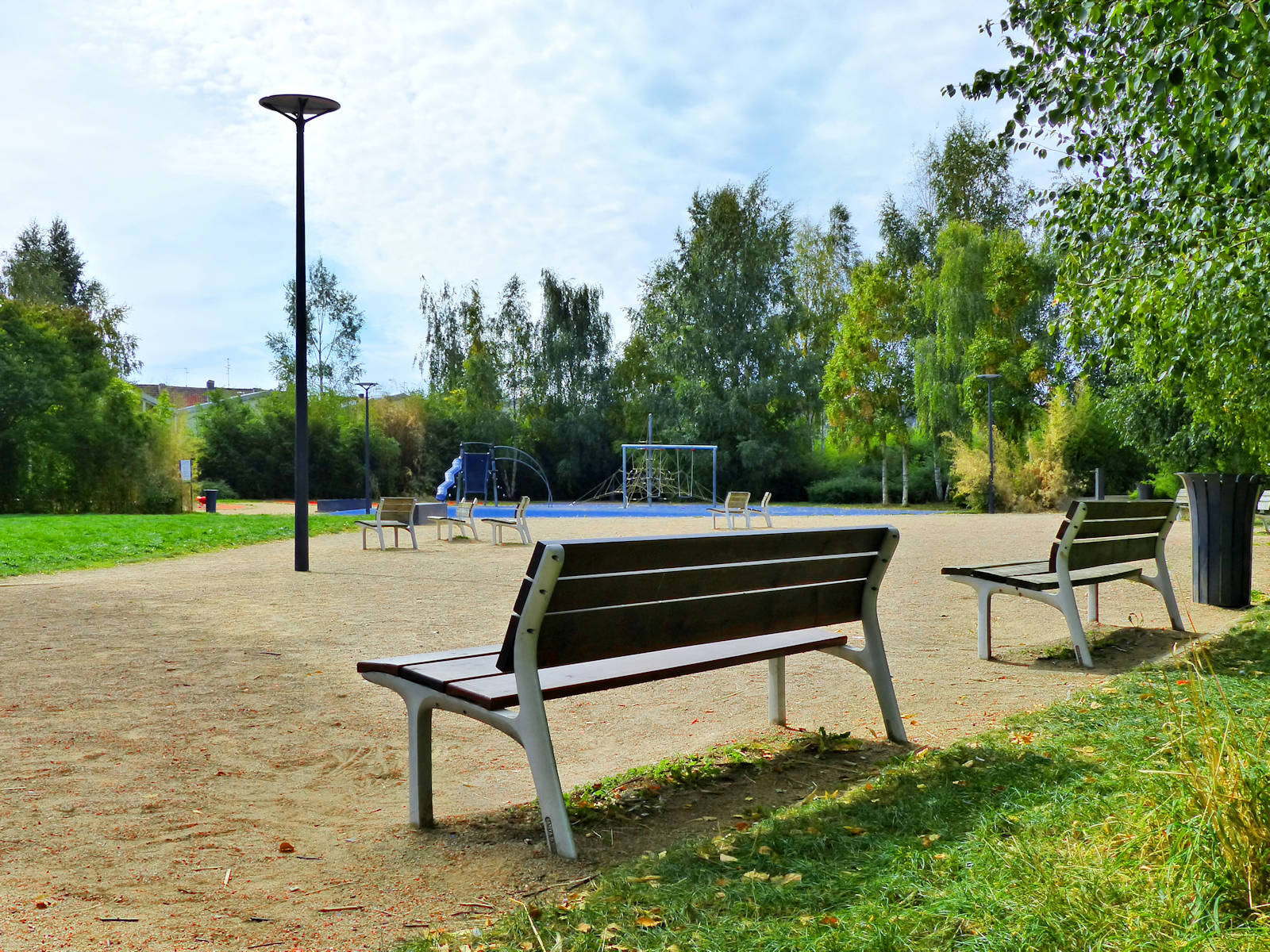 Parc Jean Moulin, Tourcoing - banc