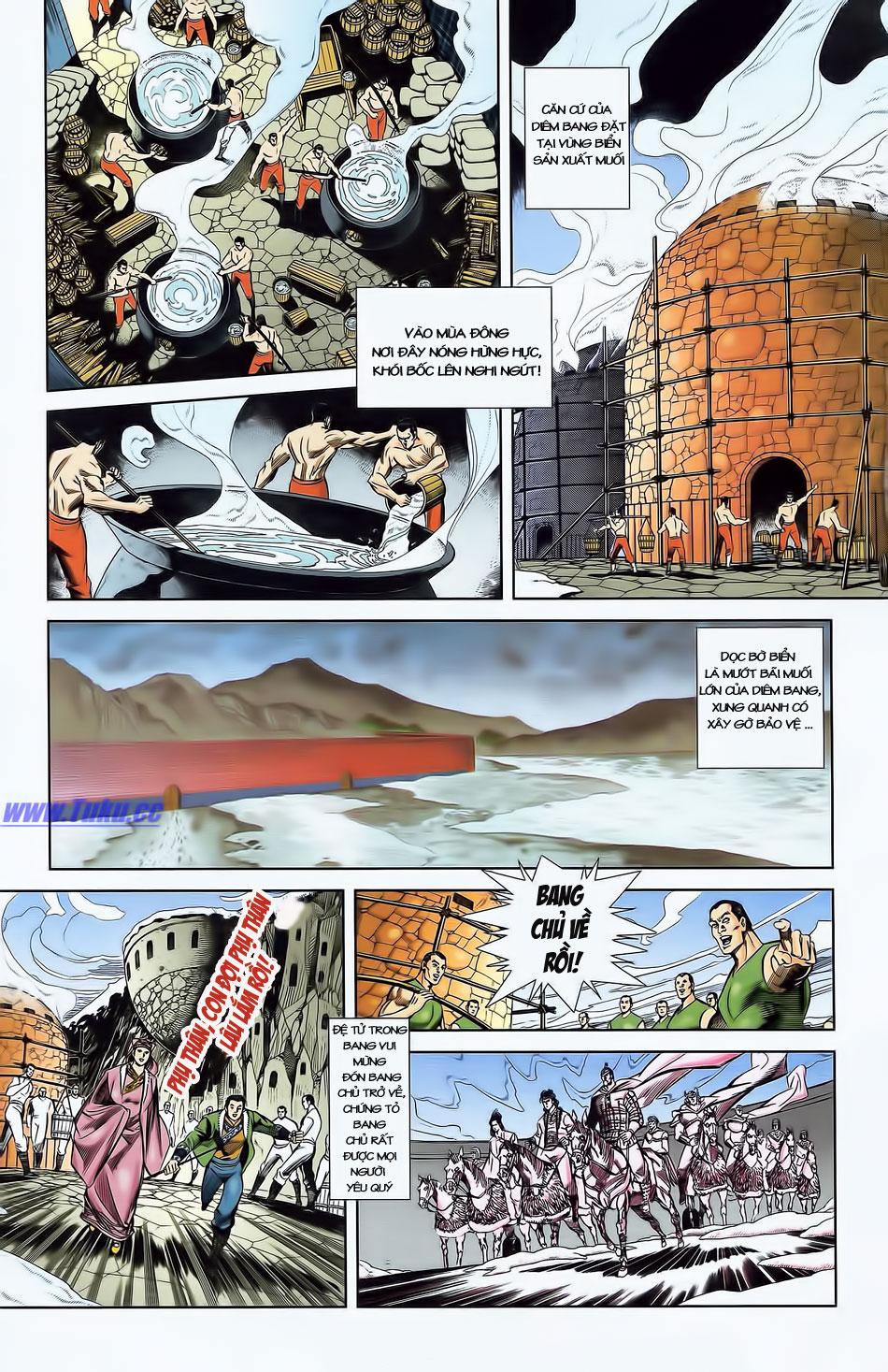 Tần Vương Doanh Chính chapter 4 trang 18