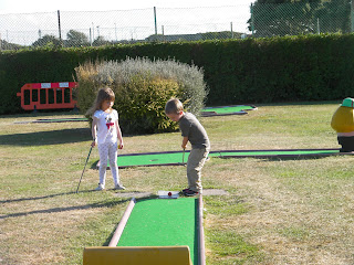 crazy golf on southsea seafront