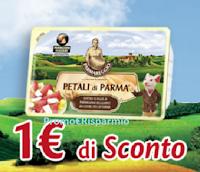 Logo Petali di Parma Parmareggio: scarica il coupon da 1€