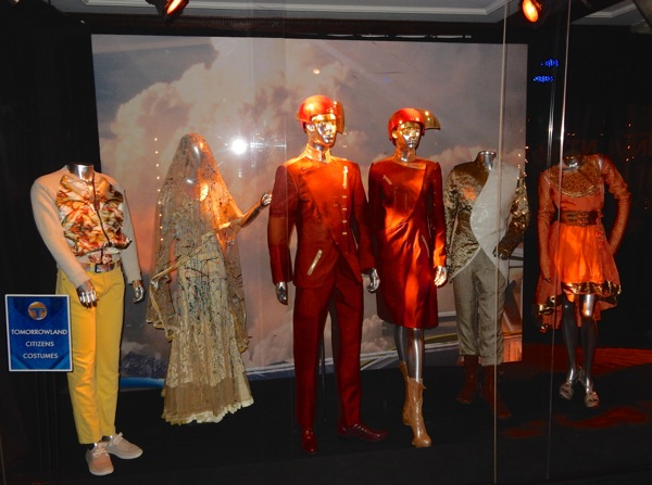 Tomorrowland citizens costume exhibit