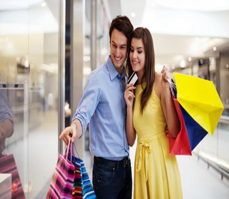 Comprando roupas