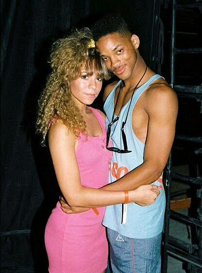 Will Smith and Mariah CAREY throw back