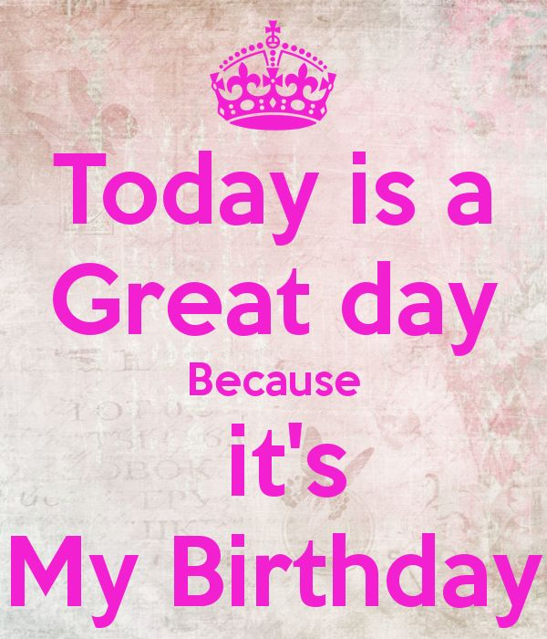today is my birthday images