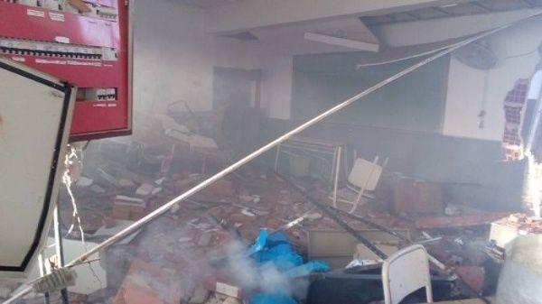 Docentes argentinos anuncian paro tras explosión en escuela