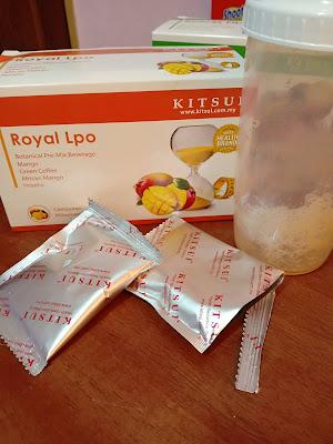 Mengawal Selera Makan Dengan Kitsui Royal Lpo