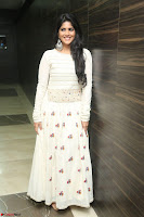 Megha Akash in beautiful White Anarkali Dress at Pre release function of Movie LIE ~ Celebrities Galleries 055.JPG