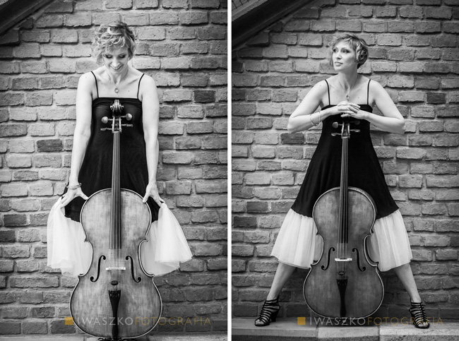 Zdjęcia dla wiolonczelistki | Sesja dla muzyka Kraków