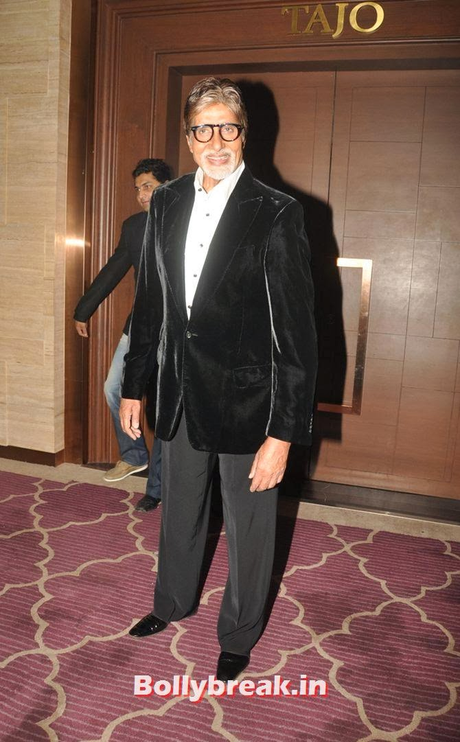 Amitabh Bachchan, Bollywood Stars Attend Asin's birthday bash