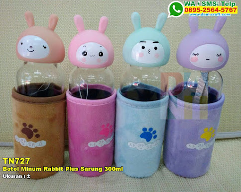 Botol Minum Rabbit Plus Sarung 300ml