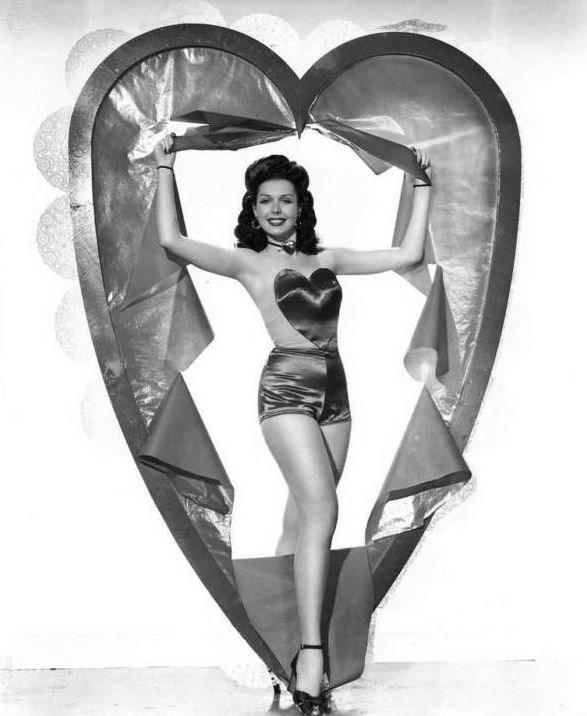 Image result for vintage hollywood valentines day